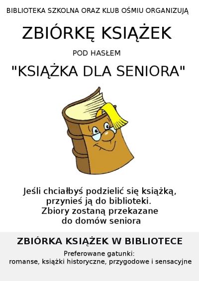 Książka dla seniora – edycja 2017