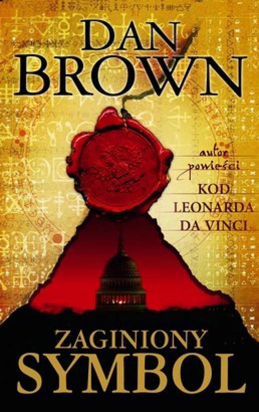 Dan Brown : Zaginiony Symbol