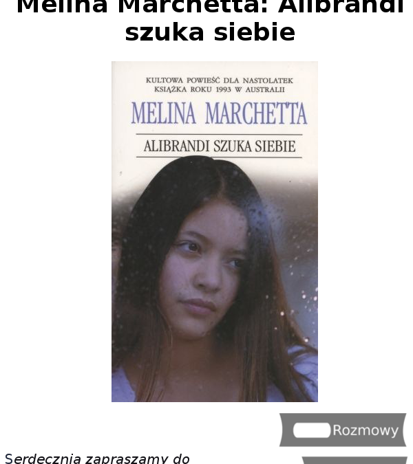 Melina Marchetta: Alibrandi szuka siebie