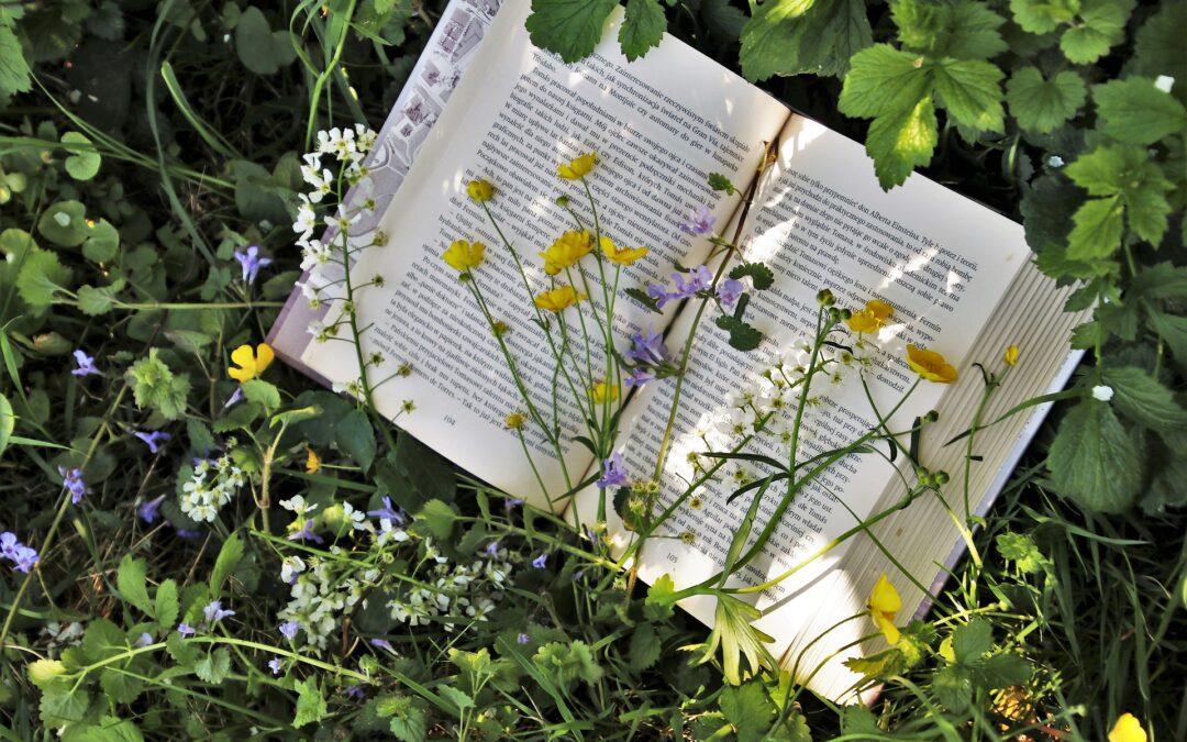 Wiosenny portret z książką